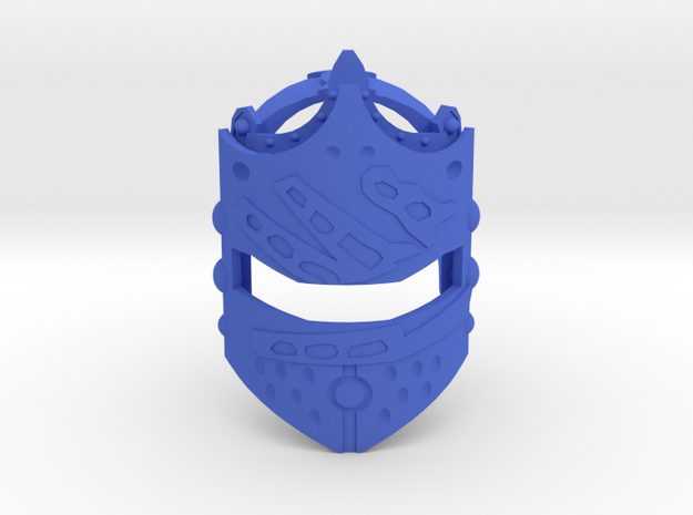 Toa Helryx's Mask of Psychometry in Blue Processed Versatile Plastic