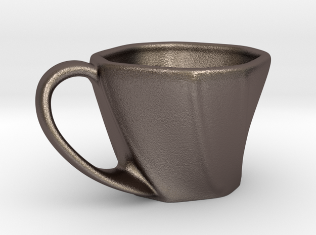 Cup Octagon 3d printed