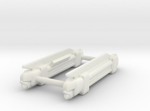 Necels  in White Natural Versatile Plastic