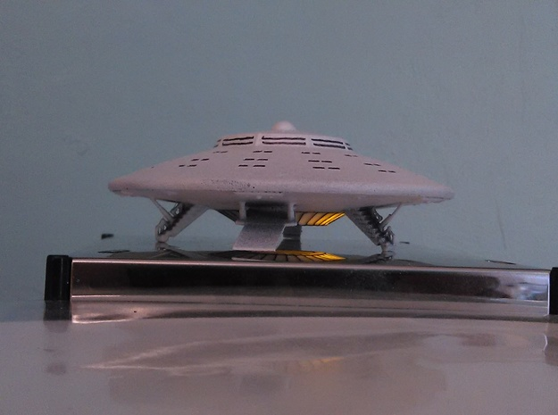 Atlantian Saucer Kit (3.5 inch dia.) in White Processed Versatile Plastic