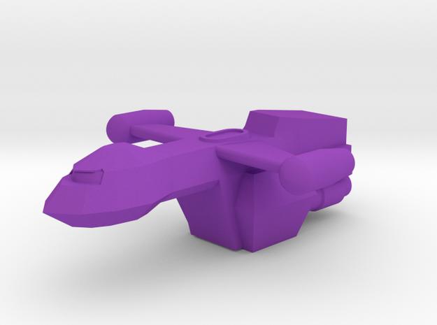 Pilgram in Purple Processed Versatile Plastic