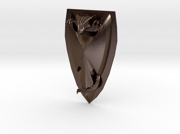 Dragon Badge 3d printed
