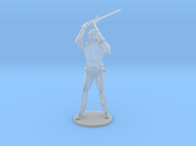 Armored Warrior 3d printed
