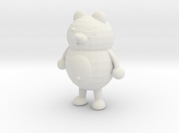 Monokuma in White Strong & Flexible