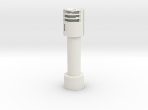 Lrb for 35mm banana (32mm inner diameter) in White Strong & Flexible
