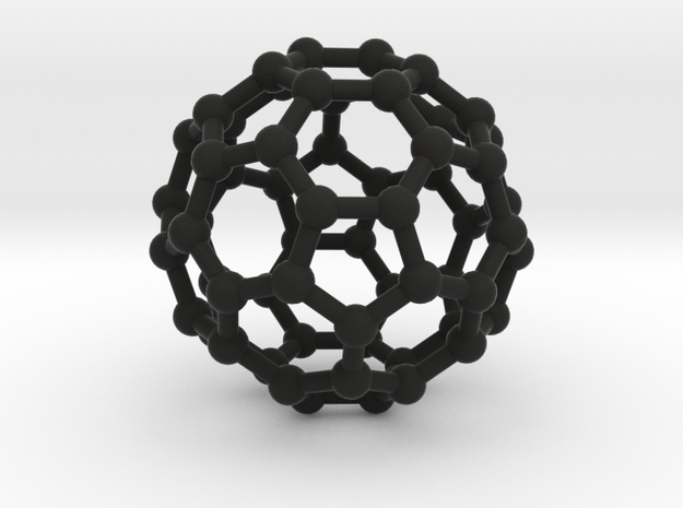 Fullerene in Black Natural Versatile Plastic