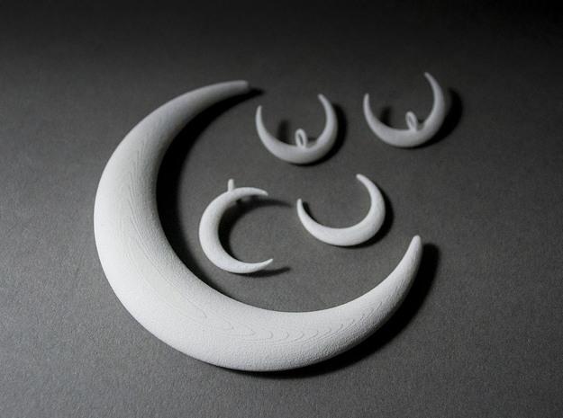 Luna Moon Set 3d printed