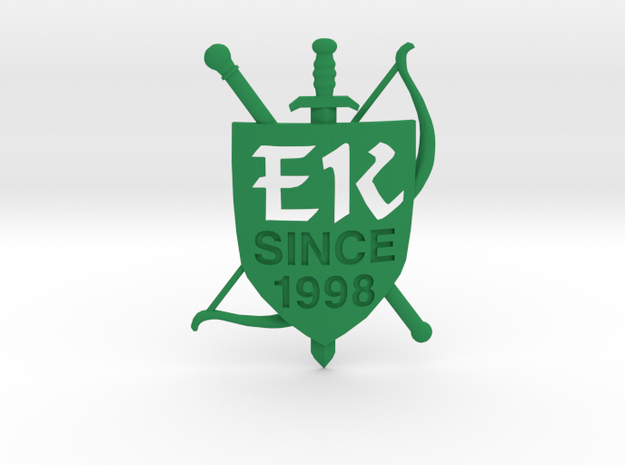 The Emerald Knights Since 1998 in Green Strong & Flexible Polished