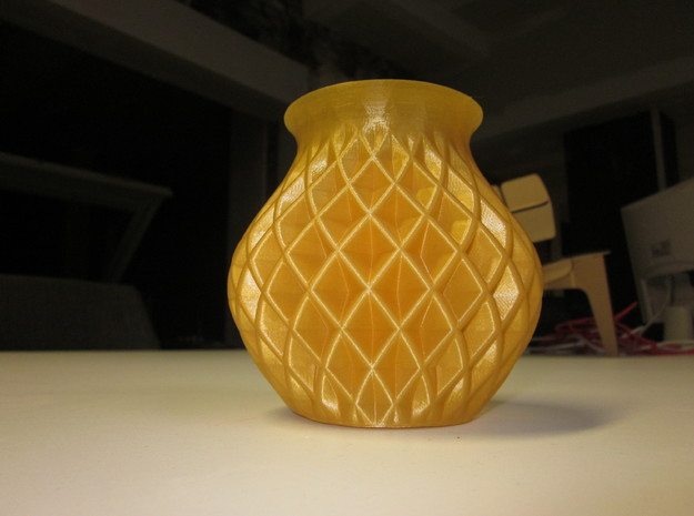 Double Twisted Vase 3d printed