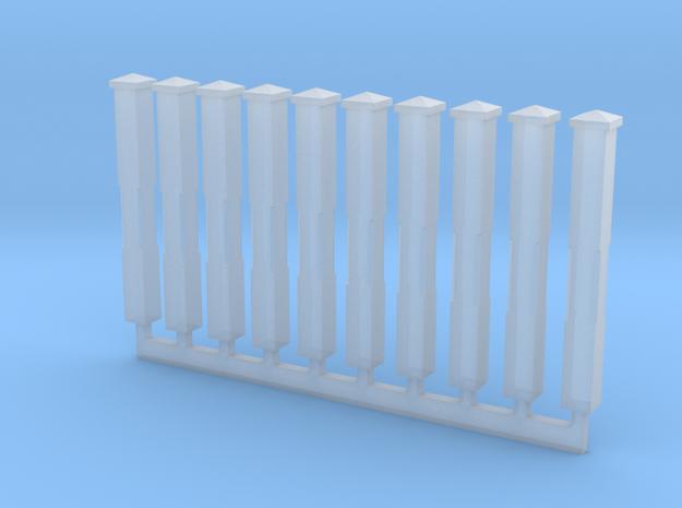 Monon Standard Milepost in Smooth Fine Detail Plastic