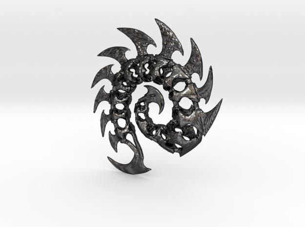 Zerg Pendant 3d printed