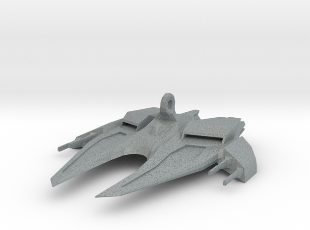 Space Ship Mirror Hanger 3d printed