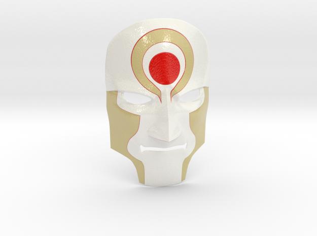 Amon Mask from Legend of Korra - Color in Coated Full Color Sandstone