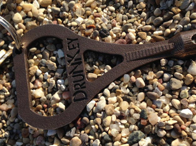 DruNKey v2.0 - A Drum Key Bottle Opener 3d printed Looking fresh.