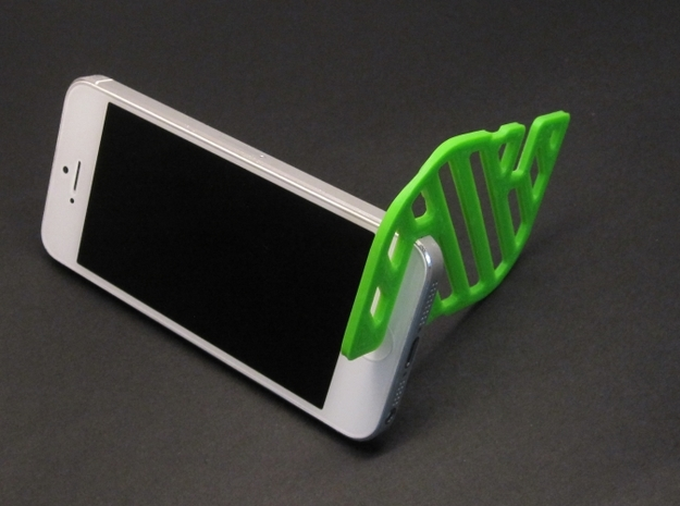 CardStand 3d printed Samples printed on a Printrbot, not by Shapeways