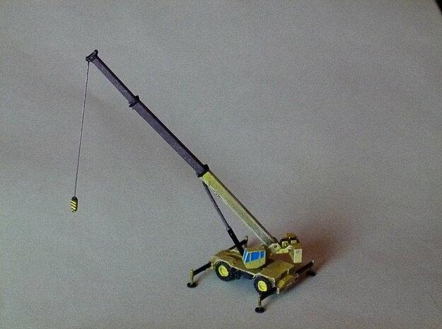 Rough Terrain Crane, Geländekran 1/285 6mm in Smooth Fine Detail Plastic