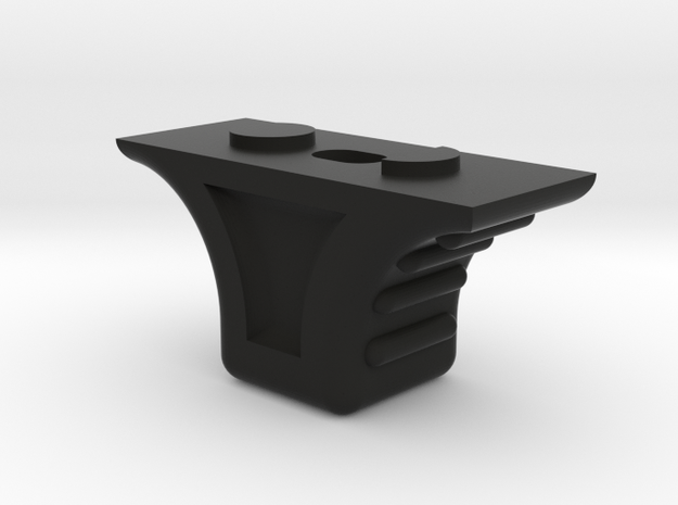 Keymod 2-sided handstop in Black Natural Versatile Plastic