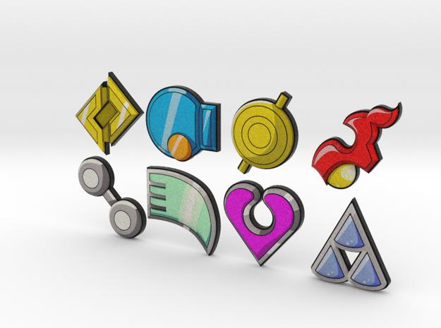 Pokemon Badges (Hoenn League)