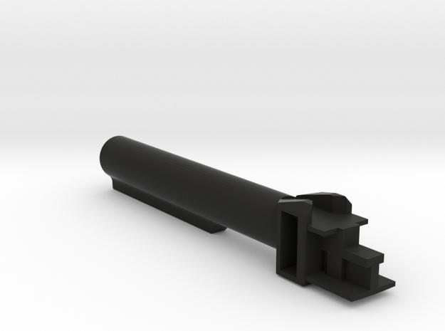 AK 6 position buffer commercial stock in Black Natural Versatile Plastic