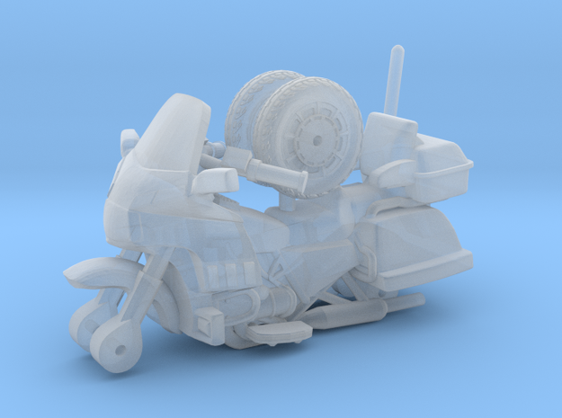 1/87 Scale Motorcycle Cruiser 3d printed
