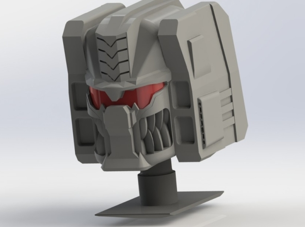 FOC Grimlock Head Kit in White Processed Versatile Plastic