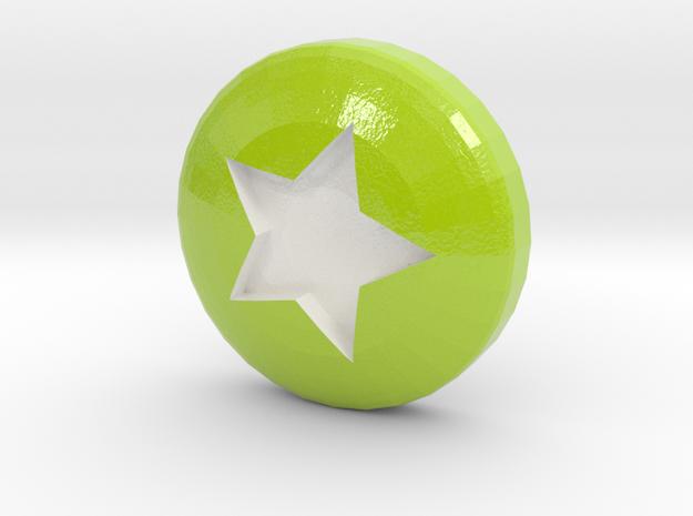 Star Ball - Supernova Soccer in Glossy Full Color Sandstone