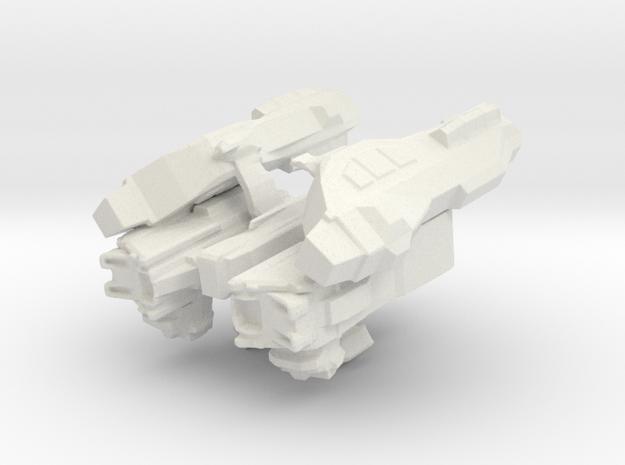 Cargo Storm Apollo Spaceship in White Natural Versatile Plastic