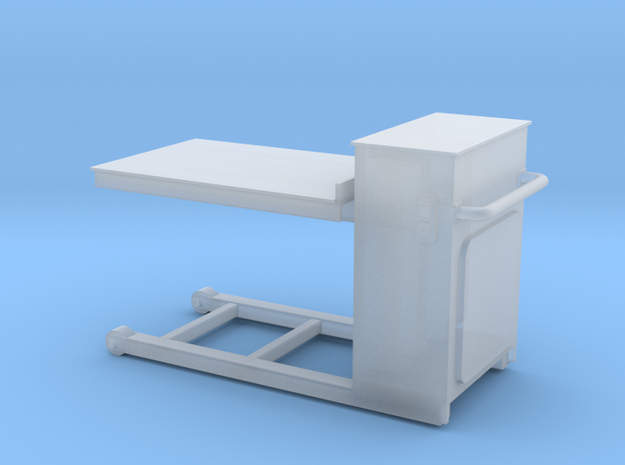 Pneumatic Table-72 in Frosted Ultra Detail
