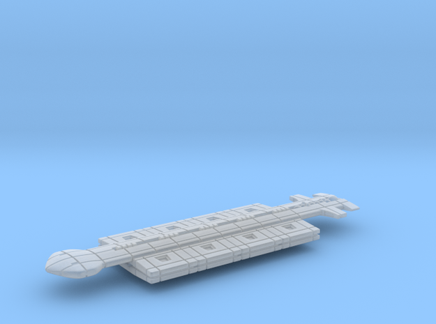 Freighter Type 7 in Smooth Fine Detail Plastic