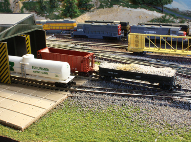 Fuel Tender - Zscale in Smooth Fine Detail Plastic
