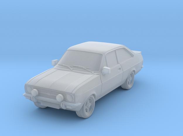 1:87 escort mk 2 2 door rs round headlights spots in Smooth Fine Detail Plastic