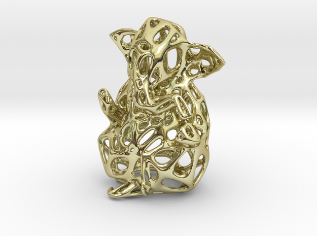 Ganesh Ji Veroni 1 in 18k Gold Plated Brass
