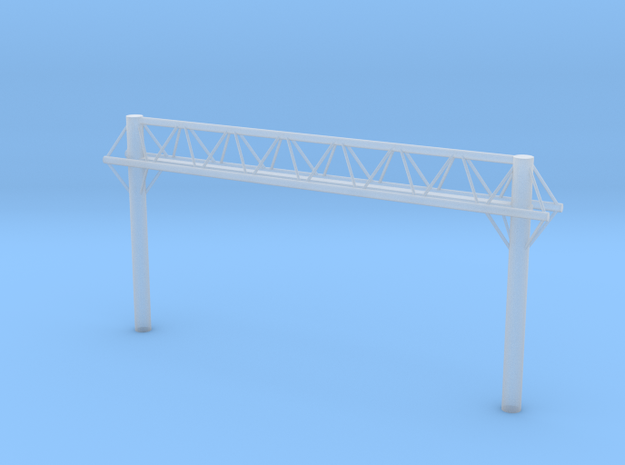 T Gauge Gantry Rack Light Leeds -01 in Smoothest Fine Detail Plastic