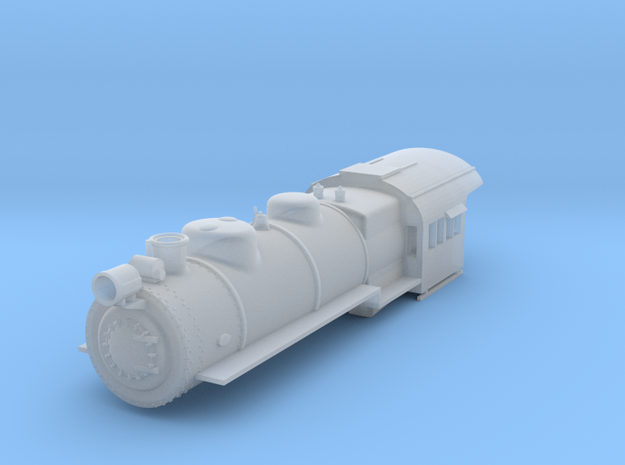 PRR H8 TT Scale Shell  in Frosted Ultra Detail