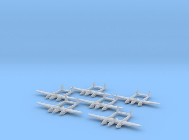 Savoia-Marchetti SM.91 1:285 x6 FUD in Smooth Fine Detail Plastic
