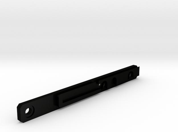 Rk95 side rail in Matte Black Steel