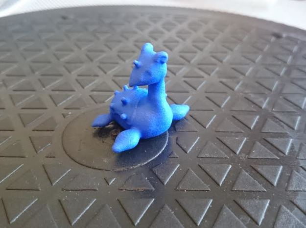 Lapras in Blue Processed Versatile Plastic