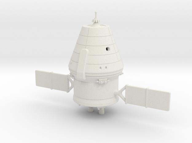 1/100 Federation / PTK Spacecraft in White Natural Versatile Plastic