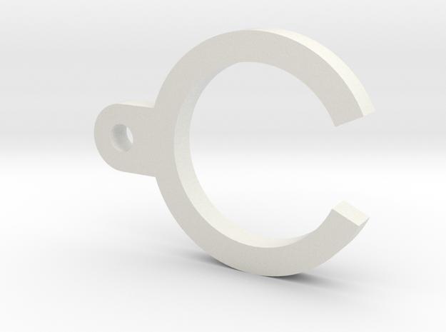 ProWin Hop Collar in White Natural Versatile Plastic
