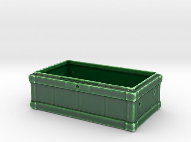 Large Box Porcelain - Mainbody in Gloss Oribe Green Porcelain
