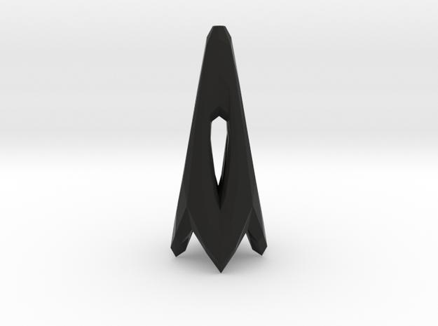 Triangle in Black Natural Versatile Plastic
