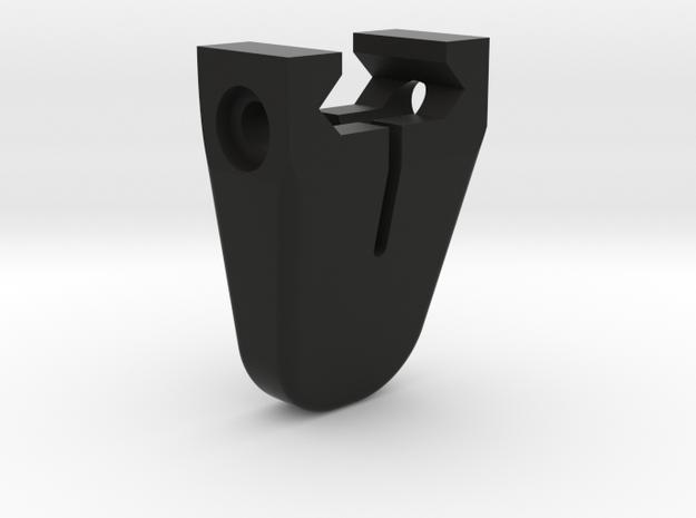 Mini handstop Picatinny - imperial in Black Natural Versatile Plastic