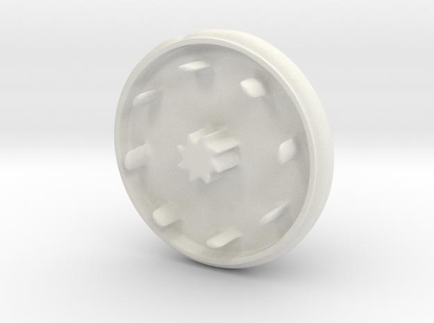 Super cute cupcake herb grinder - Part 1 in White Natural Versatile Plastic