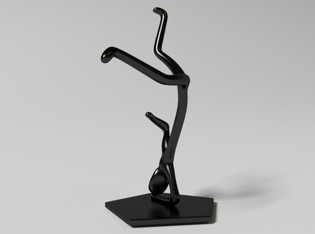 Breakdance Statue (updated) 3d printed breakdance_statue_new3