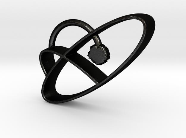 lint in Matte Black Steel