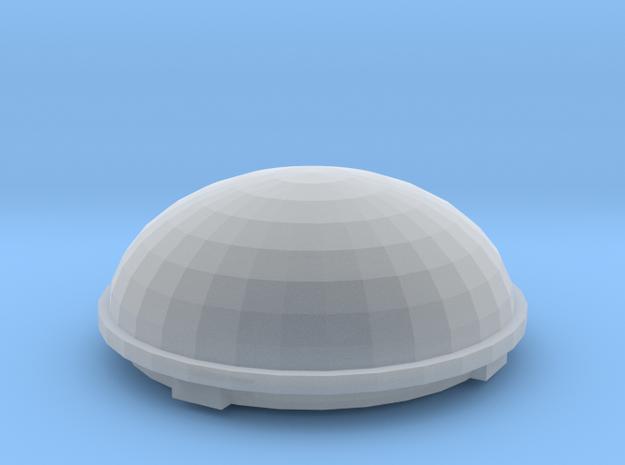 1/25 1/24 Satellite dome for semi truck RV in Smooth Fine Detail Plastic
