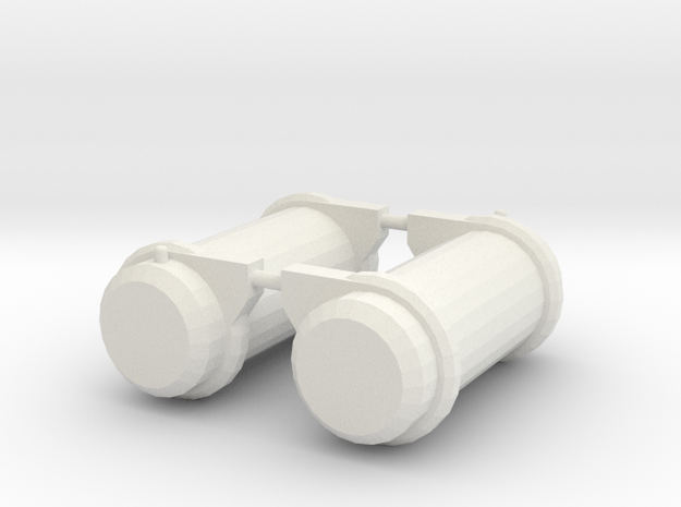 1/64 Peterbuilt Fuel Tanks in White Strong & Flexible