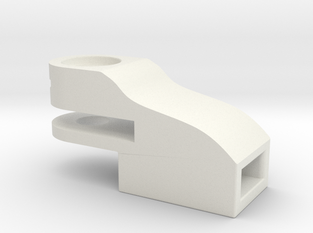 H0: NEM 362 pocket for Fleischmann in White Strong & Flexible