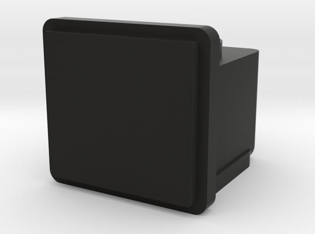 Number Plate in Black Natural Versatile Plastic