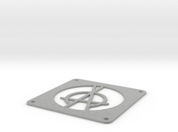 120 mm OPA Fan Grill in Metallic Plastic